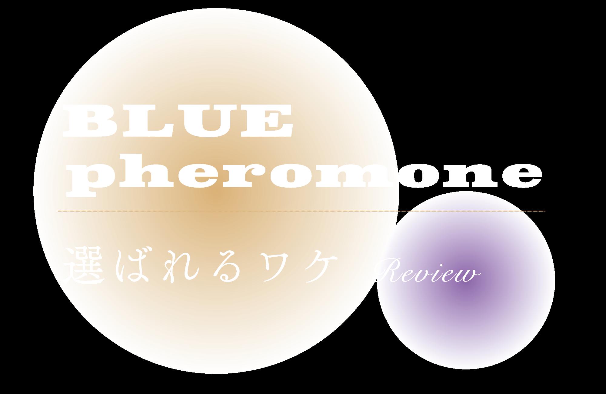 BLUE pheromone 選ばれるワケ review